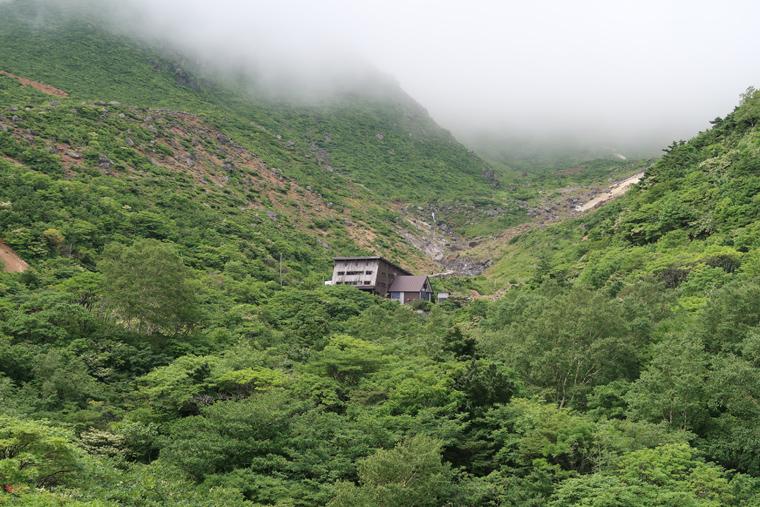 安達太良山 くろがね小屋
